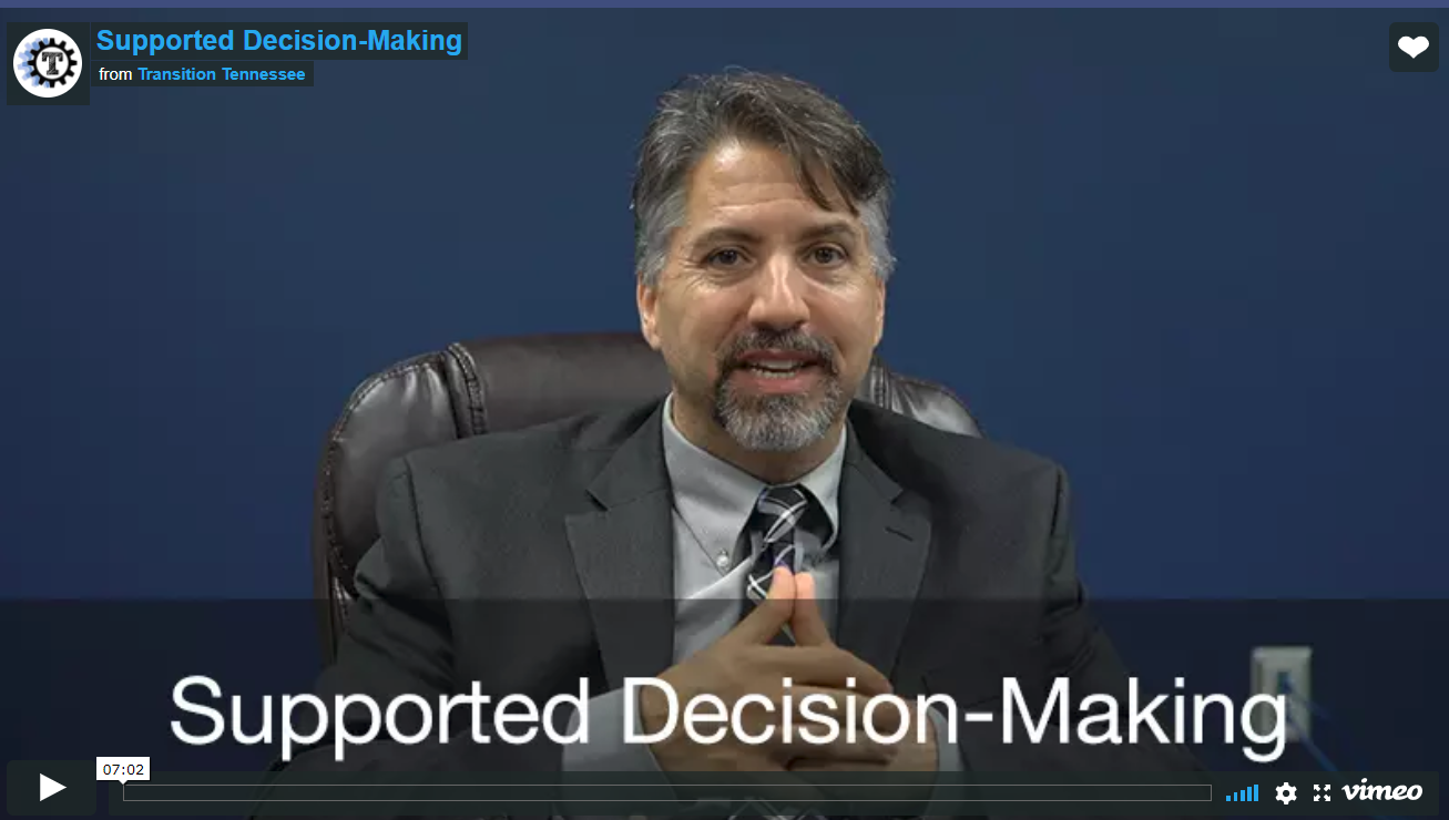 Screen Shot Video Supported Decision Making